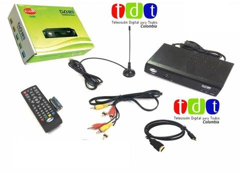 Decodificador TDT, television digital HDIM Antena