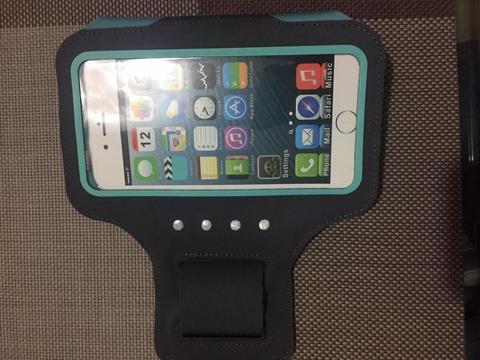Brazalete Touch Smartphone Impermeable De 6 Color Gris