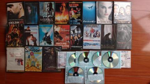 Vendo DVD's-Películas y CD's-Mp3