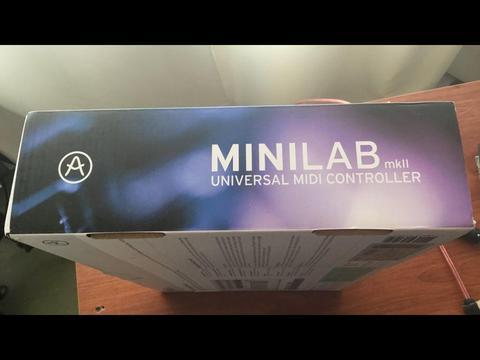 Arturia MiniLab mk2 teclado controlador midi studio dj
