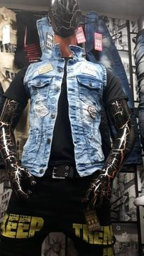 Jeans Y Chalecos para Hombre