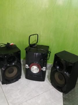 Equipo de Sonido Panasonic Ak14 en Venta