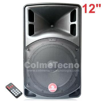 Cabina Activa Bafle Profesional 12, 2100w Bluetooth, Fm, Sd