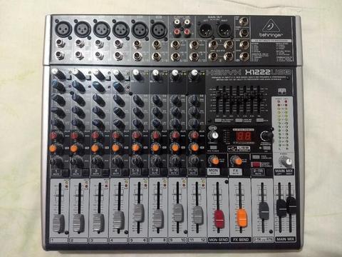 Consola Sonido Behringer X1222usb