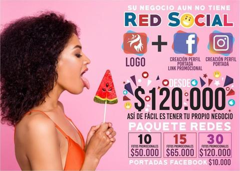 Empresas Redes Sociales Logos Publicidad Facebook Logotipos Negocios Instagram Redes Fan Page