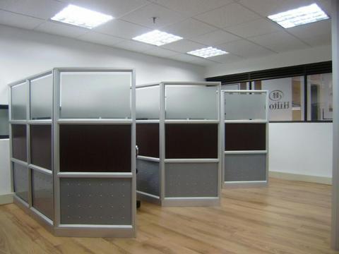 Divisiones para Oficina . Espacios