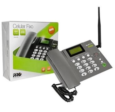 Celu Fijo PROCD6010 Gsm, 2 Sim, Para Fincas, Oficinas, Venta de minutos