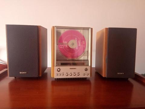 Microcomponente Sony Cd-radio-parlantes