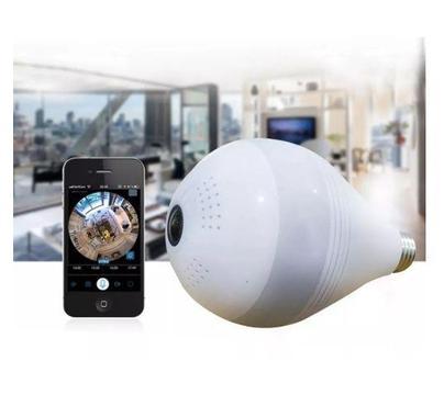Camara De Seguridad 360 Bombillo Discreta Wifi V380 App